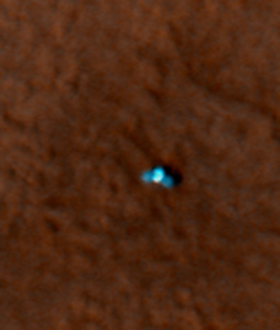 NASA/JPL picture of Phoenix on Mars