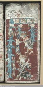 Photo of Dresden Codex page