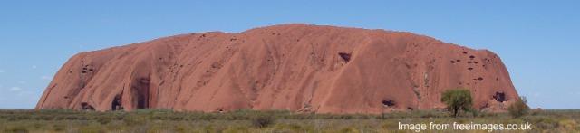 [Image of Uluru]
