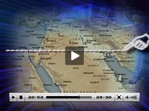 "[Image from television program: ""End Time Powers of the Middle East""]"