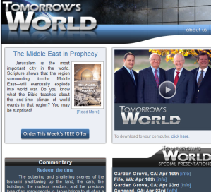 Click to go to the Tomorrow's World website