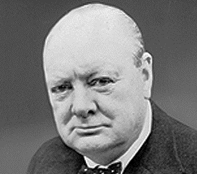 Churchill's Face