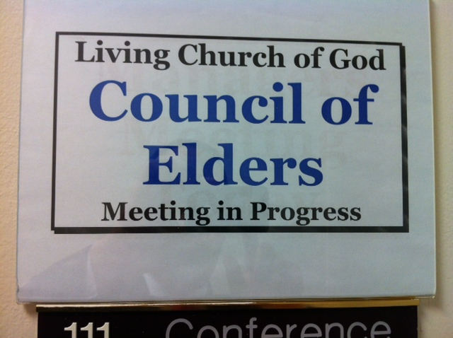 Council of Elders... in Session!