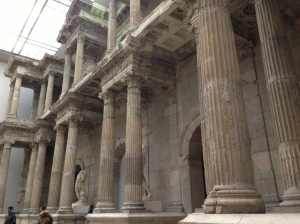 Ruins from a market gate entrance to ancient Miletus (the city mentioned in Acts 20:17 and 2 Timorhy 4:20), present at the Pergamon museum in Berlin