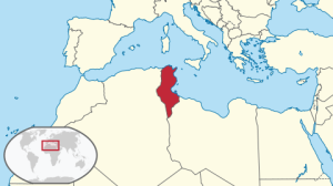 Tunisia in North Africa (via Wikipedia)