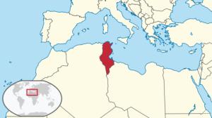 Tunisia in North Africa (via Wikipedia)