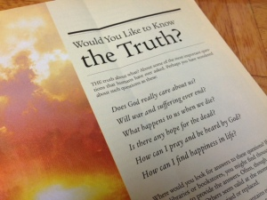JW pamphlet