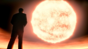 Neil deGrasse Tyson in an image from Cosmos: A Spacetime Odyssey on FOX (who owns this image). Can't deny it: The images look fantastic.