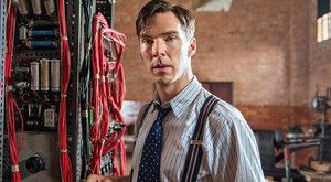 Cumberbatch as Alan Turing