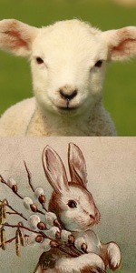 Passover Lamb or Easter Bunny? Mr. Mike DeSimone has something worthwhile to say about that. (So does the Bible...)